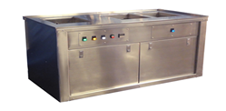 ultrasonic cleaning bench
